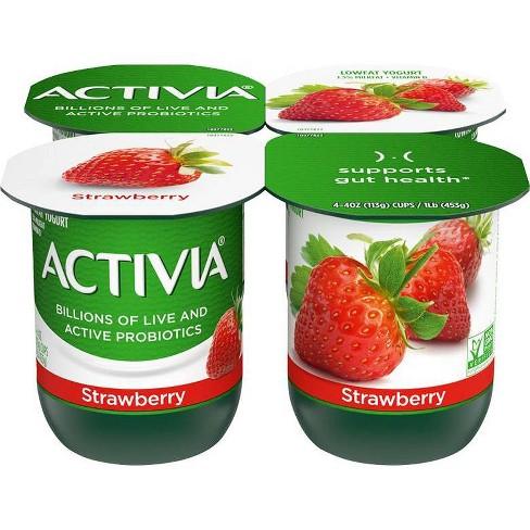 Dannon Activia Low Fat Strawberry