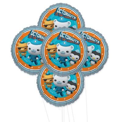 Birthday Express Octonauts Foil Balloon Kit - 5 Pieces