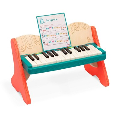 B. toys Wooden Toy Piano - Mini Maestro