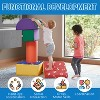 ECR4Kids SoftZone Climb and Crawl Activity Play Set–Lightweight Foam Shapes for Toddlers, 5 pc - image 4 of 4