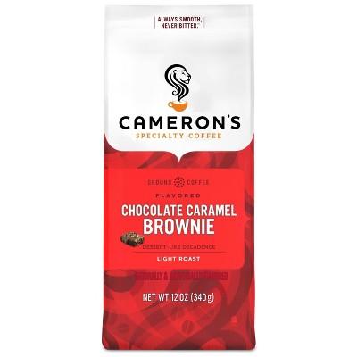 Cameron's Chocolate Caramel Brownie Light Roast Ground Coffee - 12oz