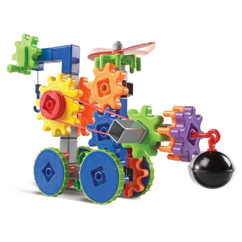 Learning Resources Gears! Gears! Gears! Machines in Motion, STEM, Gear Toy, 116 Pieces, Ages 4+ - image 1 of 4