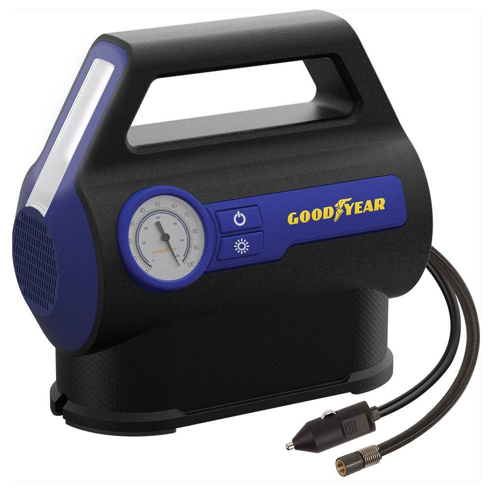 Goodyear Dual Flow 7min Flat To Full Tire Inflator And Air Compressor