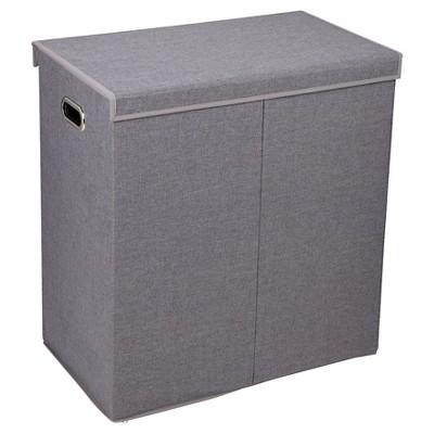 Household Essentials® Folding Double Sorter - Gray