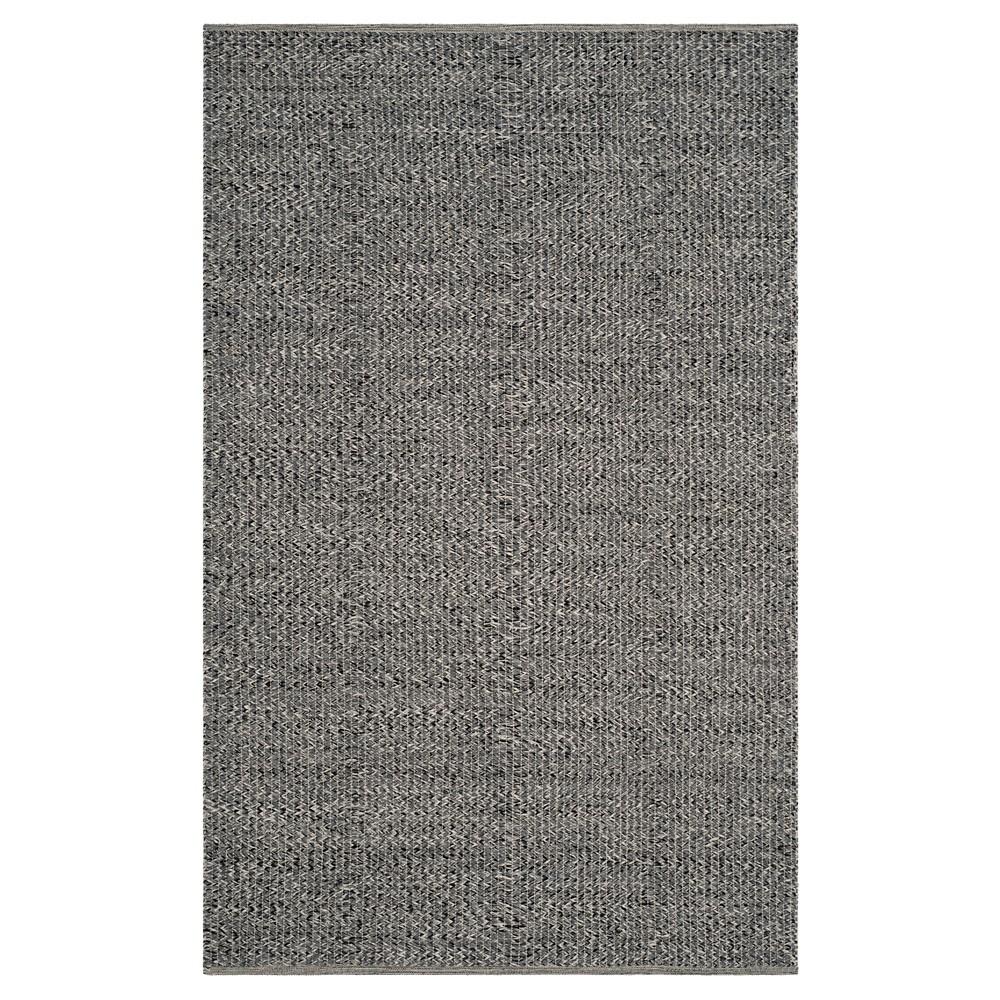 Gray Abstract Woven Area Rug - (5'X8') - Safavieh