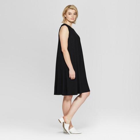 0ff16db1555 Women s Plus Size Sleeveless Midi Swing Dress - Ava   Viv™   Target