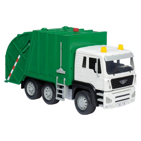 how to drive a garbage truck