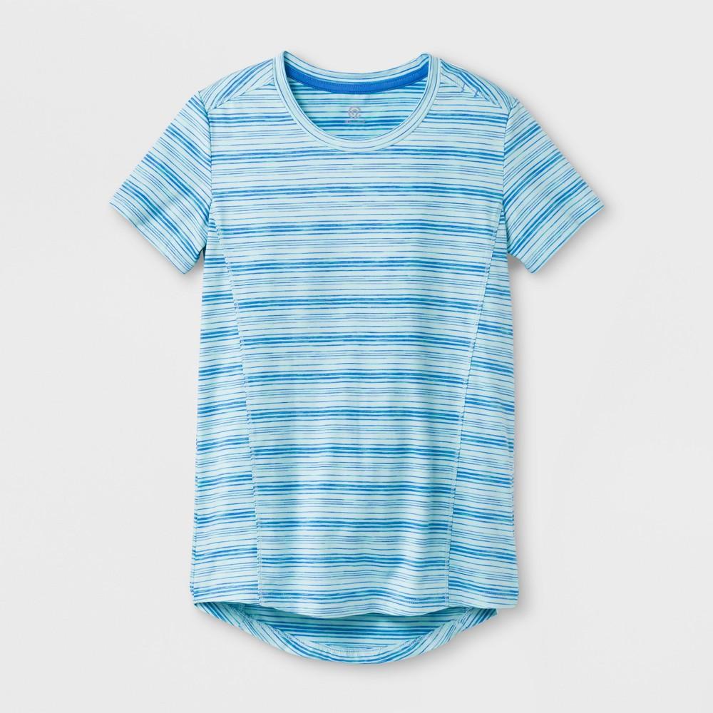 Girls' Super Soft Tech T-Shirt - C9 Champion Blue S