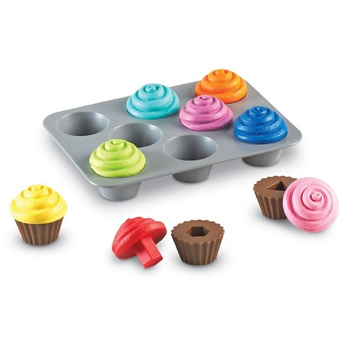 Learning Resources Smart Snacks Shape Sorting Cupcakes - image 1 of 4