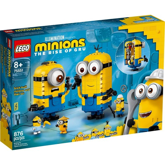LEGO Minions Brick-Built Minions and Their Lair 75551 image number null