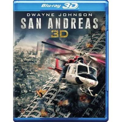 San Andreas (3D) (Blu-ray)