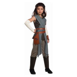 Girls' Star Wars Episode VIII Rey Halloween Costume M
