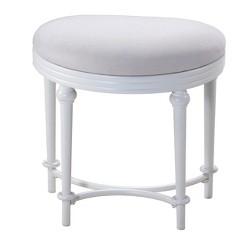 Superb Vista Vanity Stool White Crosley Target Alphanode Cool Chair Designs And Ideas Alphanodeonline