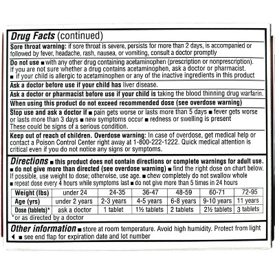 Junior Strength Acetaminophen Meltaway Tablets 24ct - up & up™