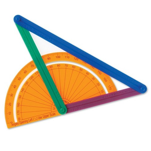 Learning Resources AngLegs, Protractor, 72 Pieces, Ages 5+ - image 1 of 4