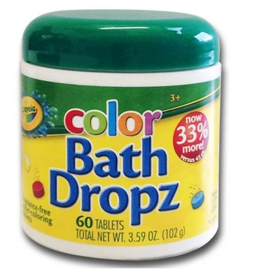 Crayola Color Bath Dropz - 60ct