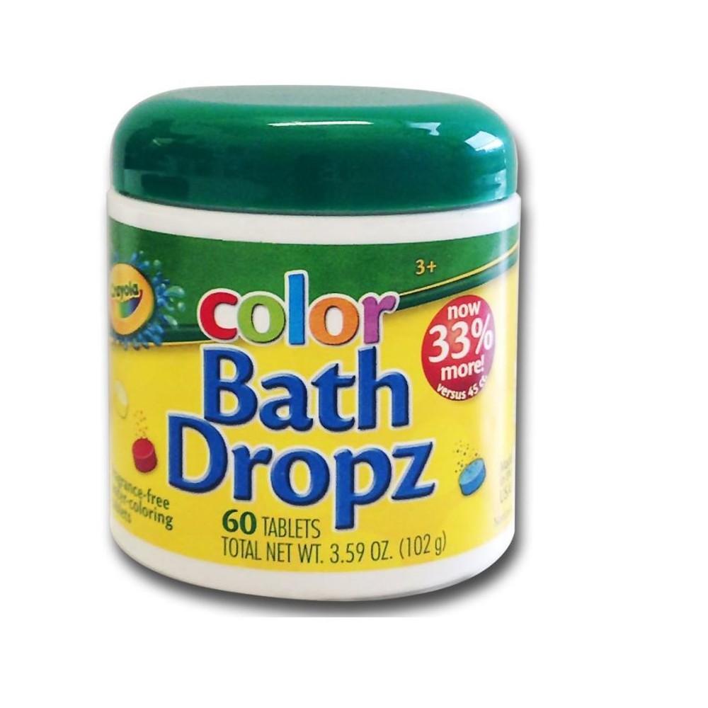 Image of Crayola Color Bath Dropz - 60ct