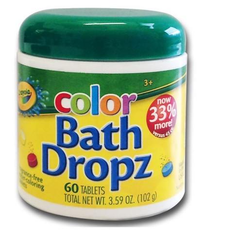 Crayola Color Bath Drops - 60ct - image 1 of 1