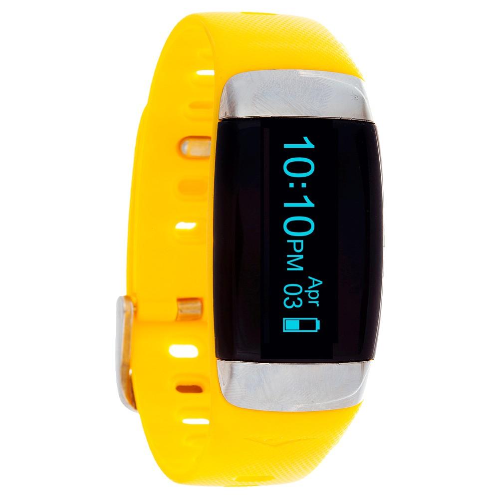 Everlast Wireless Activity Tracker Watch Yellow