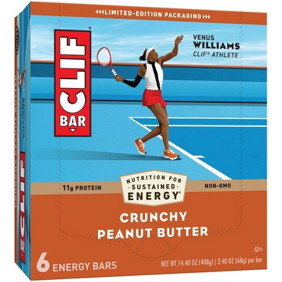 CLIF Bar Crunchy Peanut Butter Energy Bars
