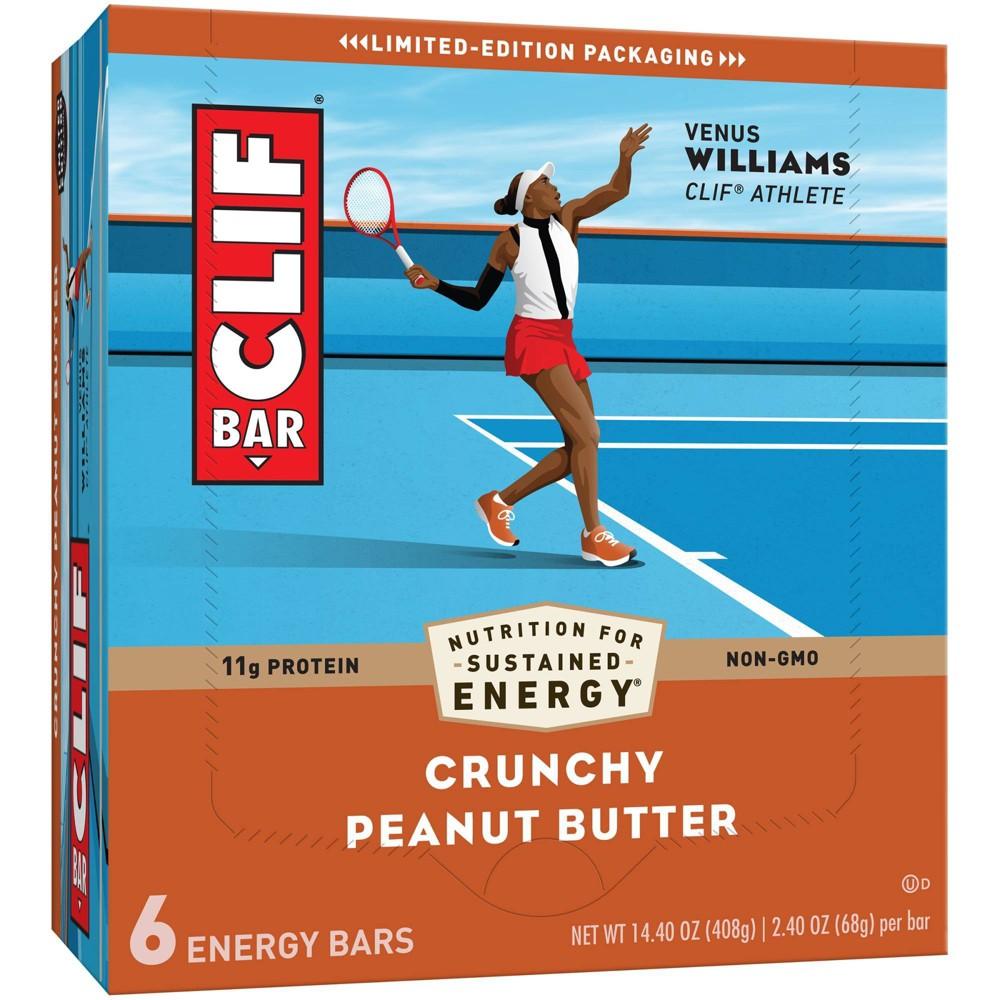 Clif Bar Crunchy Peanut Butter Energy Bars 6ct
