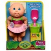 """Cabbage Patch Kids 9"""" Deluxe Tiny Newborn Beach Time Watermelon Swimsuit - Blue Eyes - image 2 of 3"""