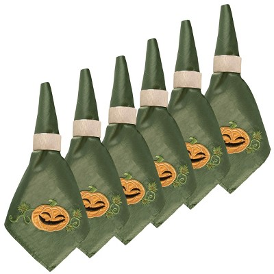 C&F Home Lil Spooky Cotton Reversible Napkin Set of 6