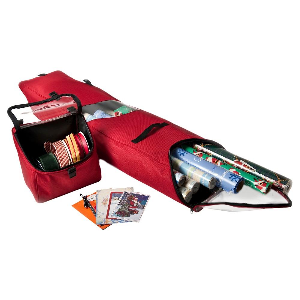 Image of TreeKeeper Santa's Bags Door Hanger Wrap Storage Bag