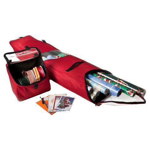 TreeKeeper Santa's Bags Door Hanger Wrap Storage Bag - image 1 of 3