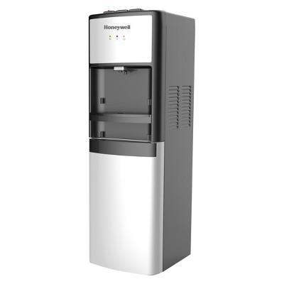 Honeywell 41  Commercial Grade Freestanding Bottom Loading Water Cooler Dispenser - Silver HWBL1033S