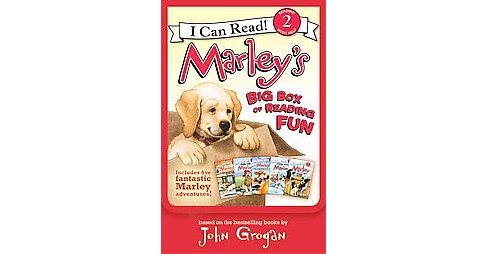 Marley's Big Box of Reading Fun ( I Can Read. Level 2) (Paperback) by John Grogan - image 1 of 1