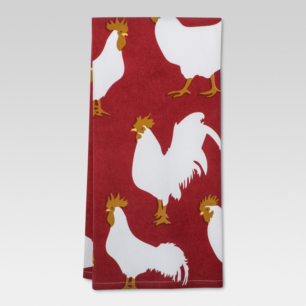 Red Rooster Kitchen Towel - Threshold
