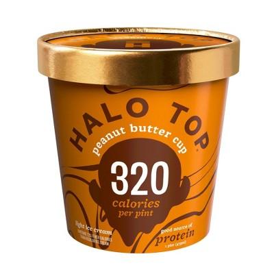 Halo Top Peanut Butter Cup Ice Cream - 16oz