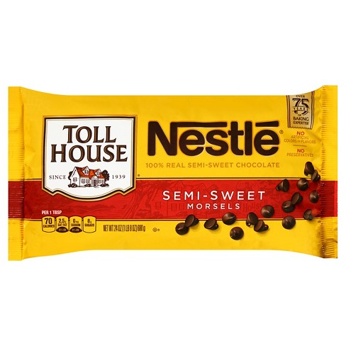 Nestle 174 Toll House 174 Real Semi Sweet Chocolate Morsels