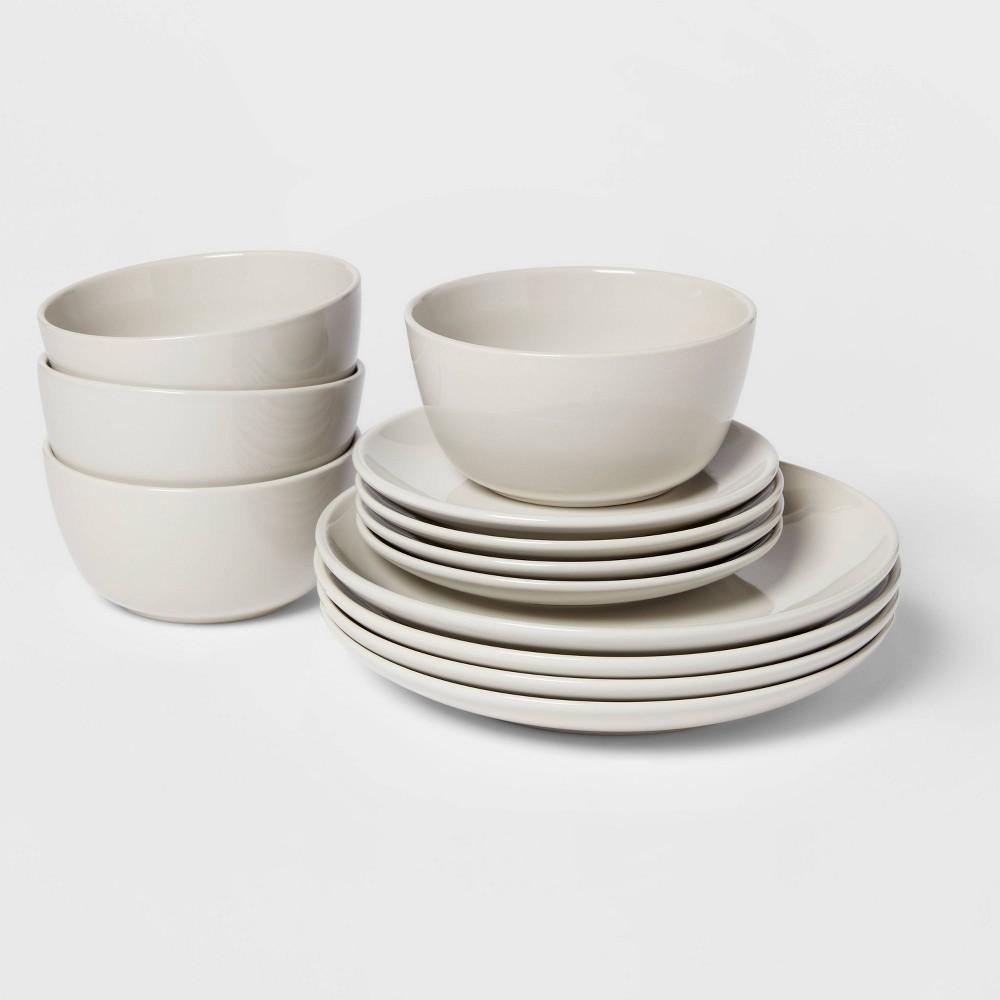 Top 12pc Stoneware Avesta Dinnerware Set  - Project 62™