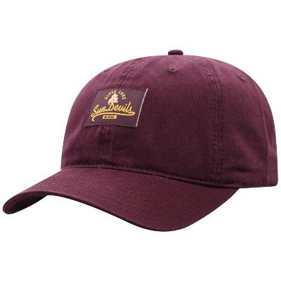 NCAA Arizona State Sun Devils Men's Dez Garment Washed Canvas Hat