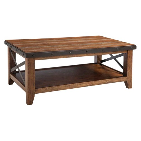 Taos Coffee Table Brown - Intercon - image 1 of 1