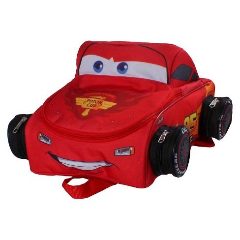 "Disney 12"" Cars Kids' Backpack - Red - image 1 of 5"