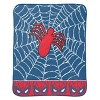 "Marvel Spider-Man 46""x60"" Throw Blanket Blue/Red - image 2 of 3"