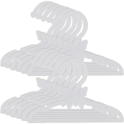 Dress Along Dolly Clothes Hangers for American Girl Doll, White