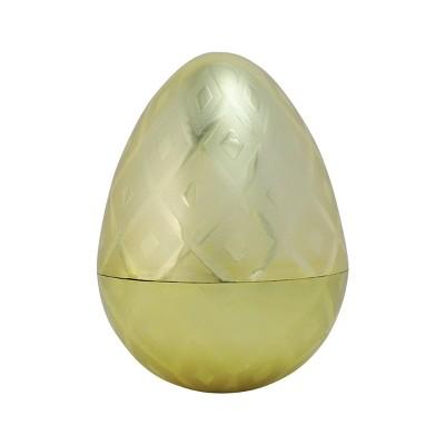 "5"" Gold Fillable Easter Plastic Egg - Spritz™"