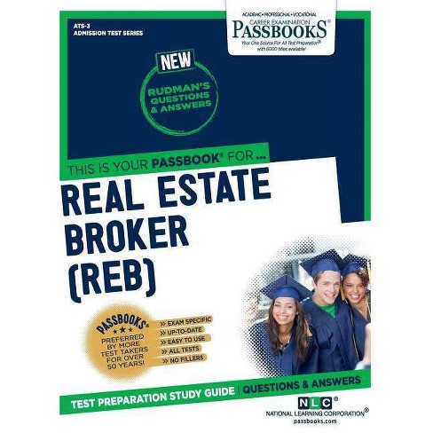 Real Estate Broker (REB) - by National Learning Corporation (Paperback)