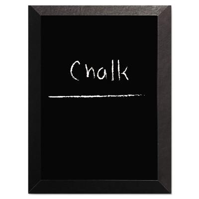 MasterVision Kamashi Chalk Board 36 x 24 Black Frame PM07151620