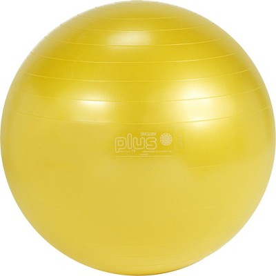 Gymnic Ball Plus 75 Fitness, Exercise and Therapy Ball - Yellow