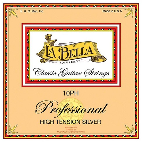LaBella 10PH Professional High Tension Silver Classical Guitar Strings - image 1 of 1