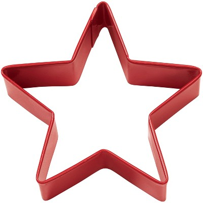 Red Metal Star Shape Cutter - Wilton