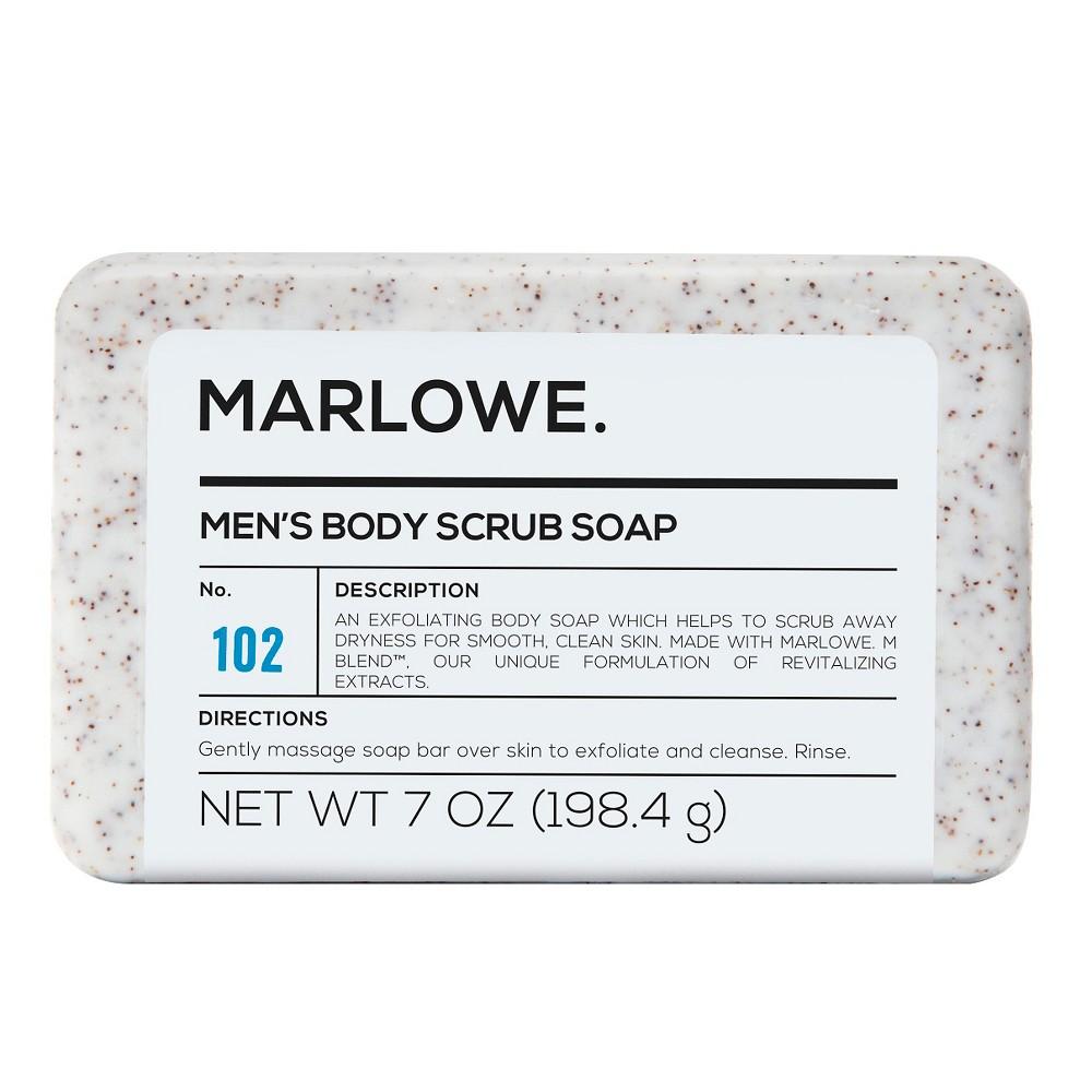 Marlowe Men's Body Scrub Soap - 7 oz