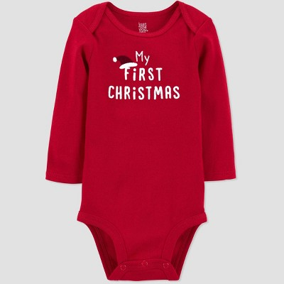 Baby 'My First Christmas' Bodysuit - Just One You® made by carter's Red
