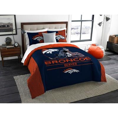NFL Denver Broncos The Northwest Co. King Size Printed Comforter & Sham