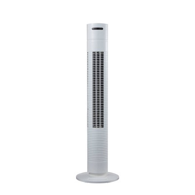 "Comfort Zone 31"" Oscillating Tower Fan White"